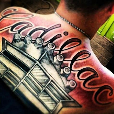 cadillac tattoo 17 best images about tattoos gold and on