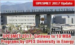 Upes Mba Ranking In India by Upesmet 2017 Gateway To 10 Mba Programs By Upes
