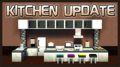 minecraft kitchen furniture mrcrayfish s furniture mod showcase kitchen update