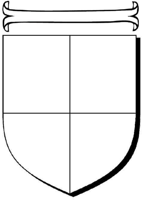 coat of arms template free clipart best
