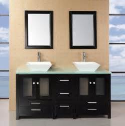 adorna 61 quot sink bathroom vanity set solid wood