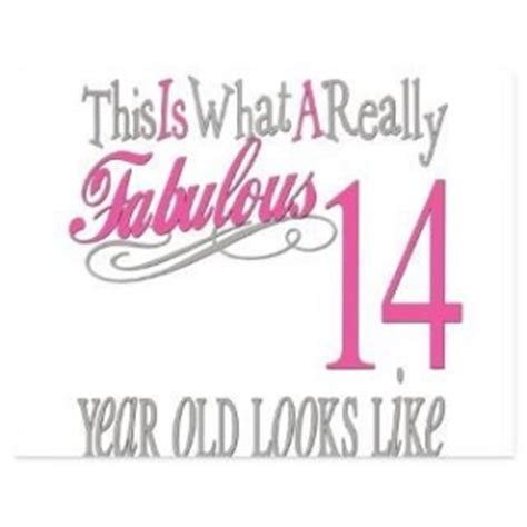 14 Year Birthday Quotes 14th Birthday Quotes Quotesgram
