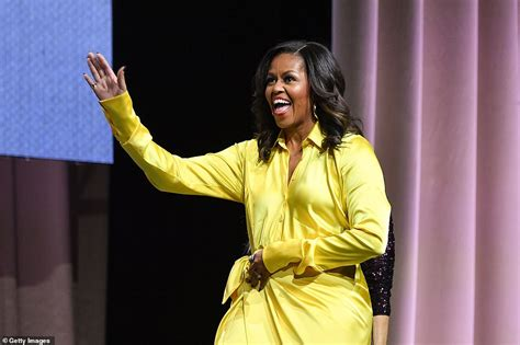 michelle obama yellow michelle obama dresses to impress in 4 000 glittery thigh