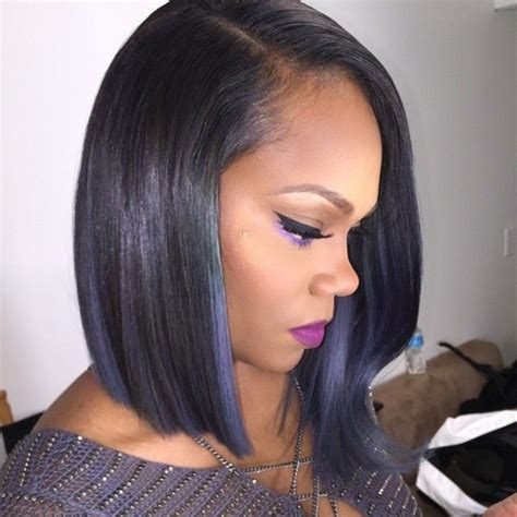 black people short hair style sleek in front curly back 21 simple bob hairstyles for thin hair easy bob haircuts