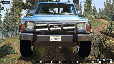nissan safari off road gta 5 nissan patrol safari y60 off road 1996 youtube