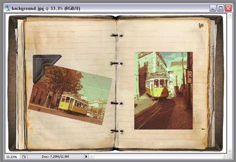 design photo album photoshop how to create a vintage photo album in photoshop