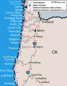 map of oregon california coast highway 101 drive up the oregon coast travel