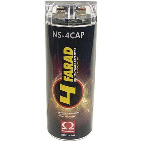 digital power capacitor nedir diesel audio ns 4cap 4 farad digital power capacitor