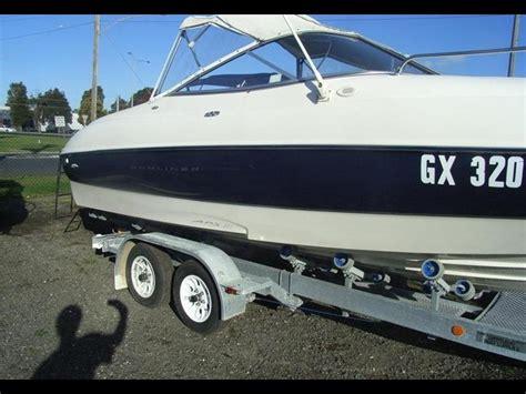 bayliner boat trailer lights 2002 bayliner 212 capri for sale trade boats australia