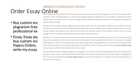 Buy Custom Essay by Custom Essay Writing Service Order Essay Writing Service