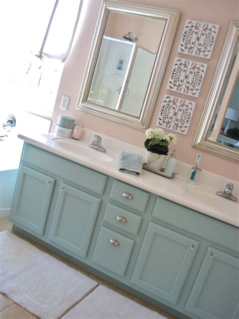 painting bathroom vanity ideas master bath mini makeover make do studio