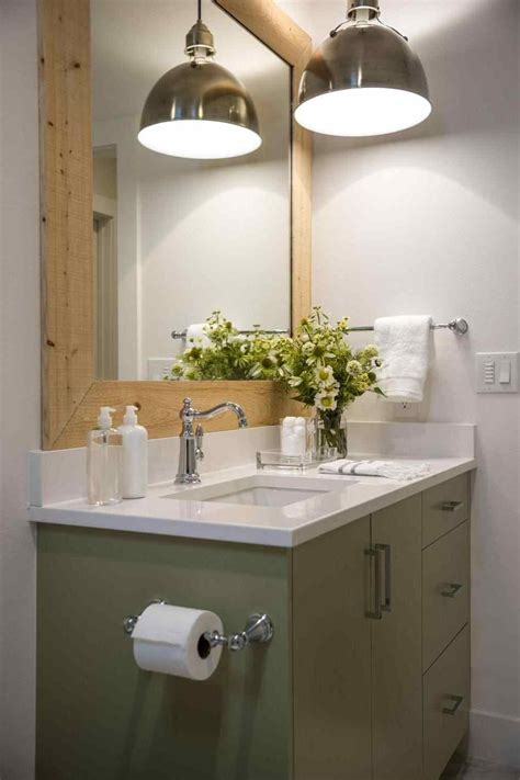 decor industrial lighting fixtures farmhouse bathroom