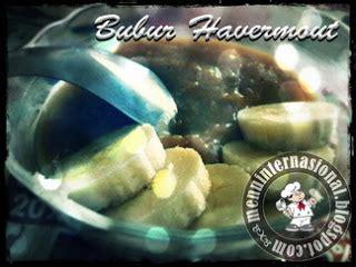 cara membuat bubur sumsum untuk diet langkah pembuatan bubur havermout dengan saus pisang sehat