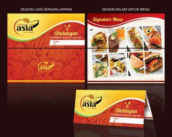 Template Kartu Nama Restoran | sribu desain kartu undangan desain undangan untuk pembuka