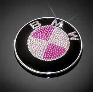 Pink Bmw Emblem Pink Bmw Blinged Out Emblem
