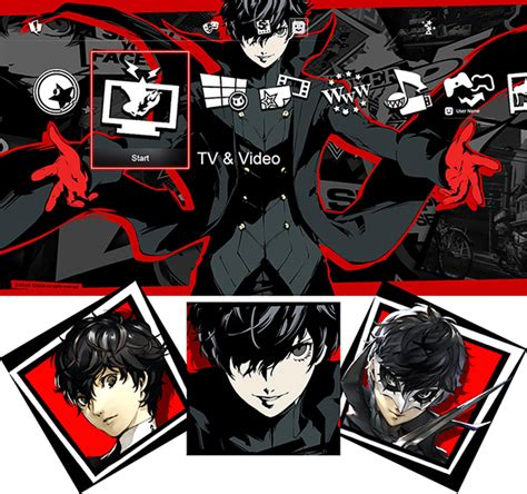 ps4 themes bug persona 5 dlc character themes and avatars and patch 1