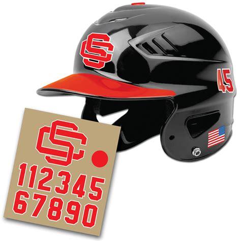 Baseball Helmet Stickers baseball helmet decals pro tuff decals baseball