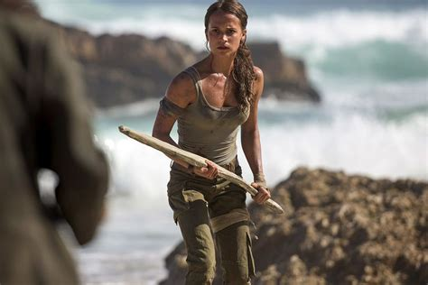 tomb raider news your source on lara croft games alicia vikander s lara croft looks just like the new tomb
