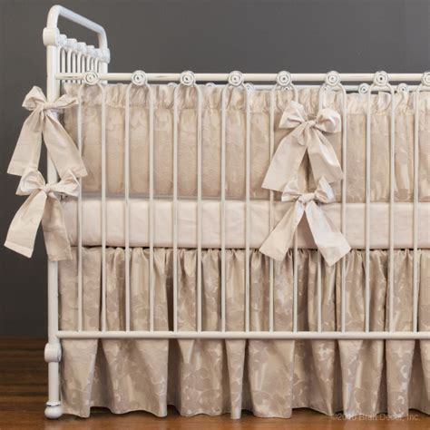 beige crib bedding crib bumper beige baby crib design inspiration