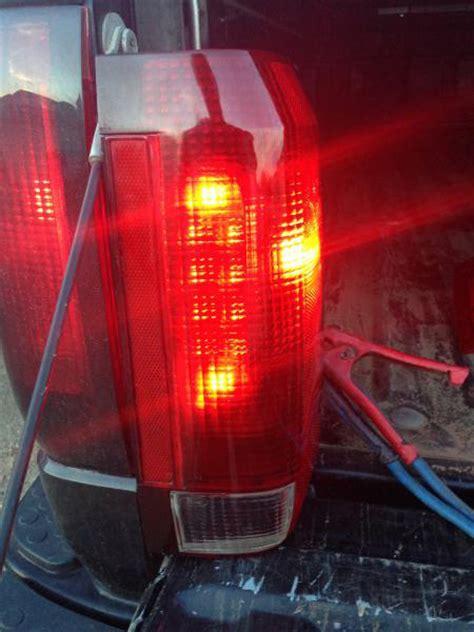 diy      custom led tail lights