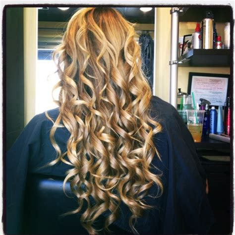 hairstyles with wand prom curls made with wand hairstyles pinterest