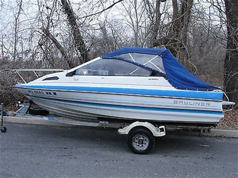 capri boat trailer lights boats 1988 bayliner capri 16 ft cuddy cabin with trailer