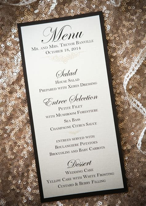 chocolate accents chagne ivory invitation collection with chocolate