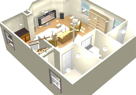 Basement Floor Plans by 3d Planing Images 3d Remodeling Image Gallery 3d Floor