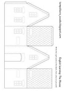 paper house templates to print 1000 images about paper houses on paper