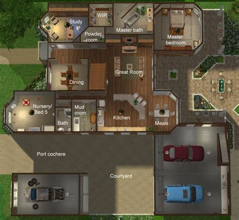 mod the sims affordable 2 bedroom mobile home for sale sims 2 luxury homes house decor ideas