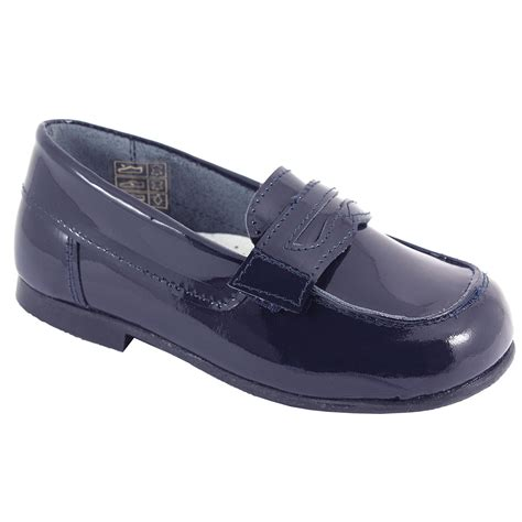 loafer shoes images boys navy patent loafer shoes cachet
