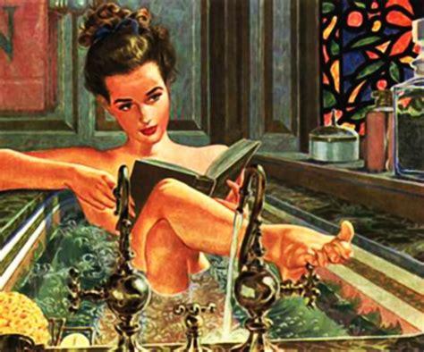 Bathtub Pinup by Free Illustration Bath Bathing Bathtub