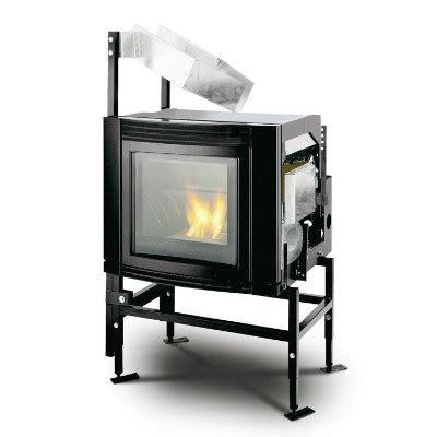 inserti per camini a pellet inserto a pellet ventilato vetro estetico di palazzetti