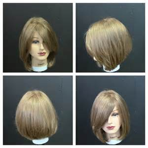 women s medium length haircut tutorial with face frame