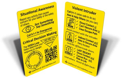 Active Com Gift Card - active shooter defense for schools and security awareness for educators