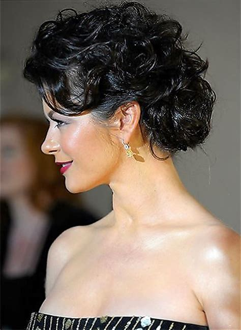 hairstyles buns messy for black messy updos for curly hair newhairstylesformen2014 com