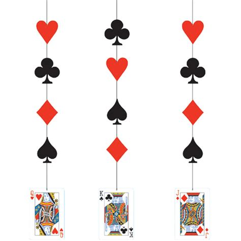 card themed decorations casino hanging card decorations from all you need to