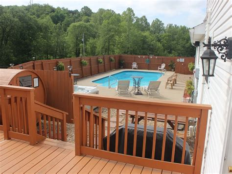Hocking Cabins With Indoor Pool by Hocking Luxury Lodge Heated Pool Homeaway