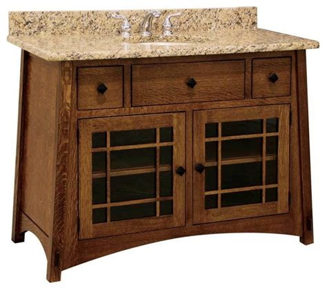 craftsman style bathroom vanities mccoy bathroom vanity craftsman bathroom vanities and