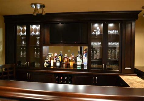 Shop Home Bars Custom Home Bar Lighting Ideas Custom Home Bars