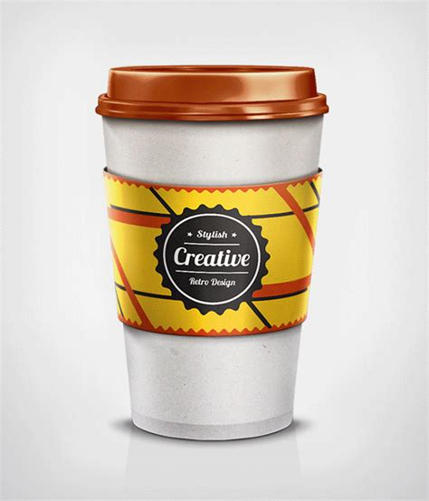 coffee cup design on behance coffee cup mockup on behance