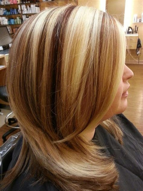 pictures of high and lowlights for hair highlights and lowlights on blonde hair prom pinterest