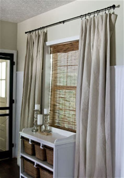Painters Drop Cloth Curtains Inspirations Drop Cloth Drapes
