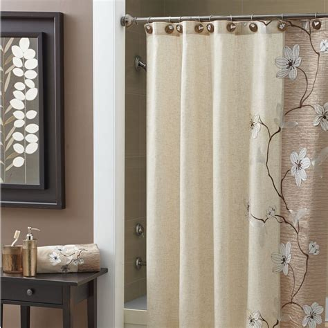 curtain in bathroom make your bathroom gorgeous with bathroom shower curtains