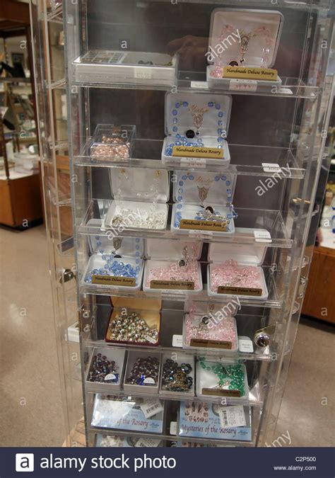 bead stores nyc rosary on sale in a display at the gift shop at