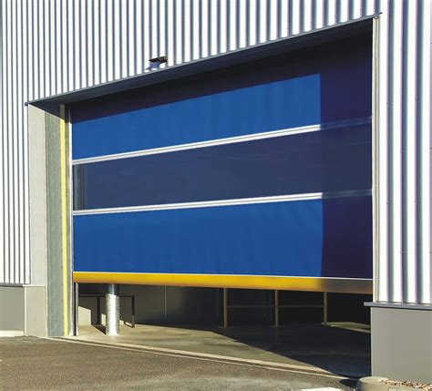 High Speed Pvc Roll Up Doors 187 Techno One Automatic High Speed Overhead Doors