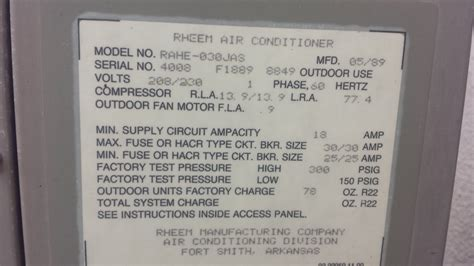 rheem air conditioner manual air conditioner guided