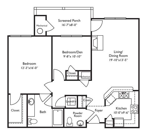 Retirement Floor Plans | floor plans for retirement homes looks wheelchair