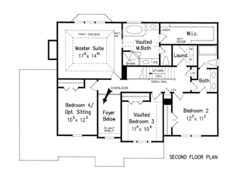 Westover House Plan Westover House Floor Plan Frank Betz Associates