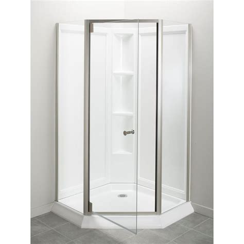 Sterling Shower Units by Sterling Solitaire Economy 42 In X 29 7 16 In X 78 1 4